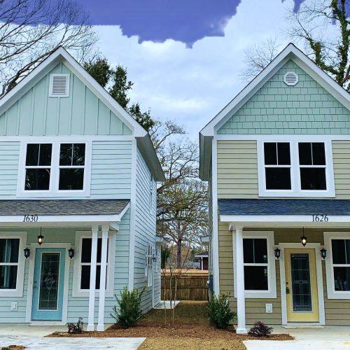 custom town homes built by Rooke Custom Home Builders in Charleston, SC