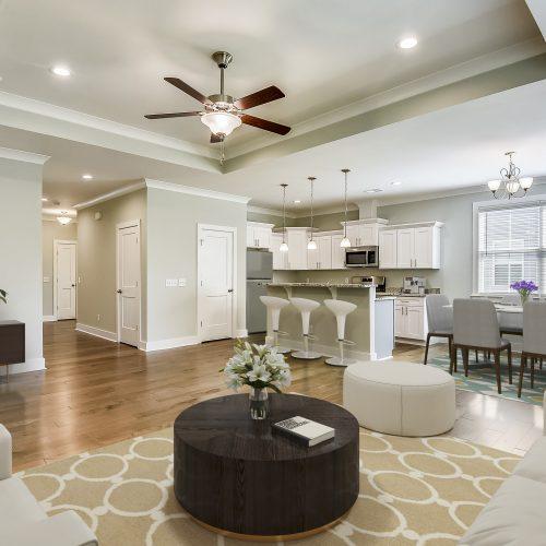 custom new interior design built by Rooke Custom Home Builders in Charleston