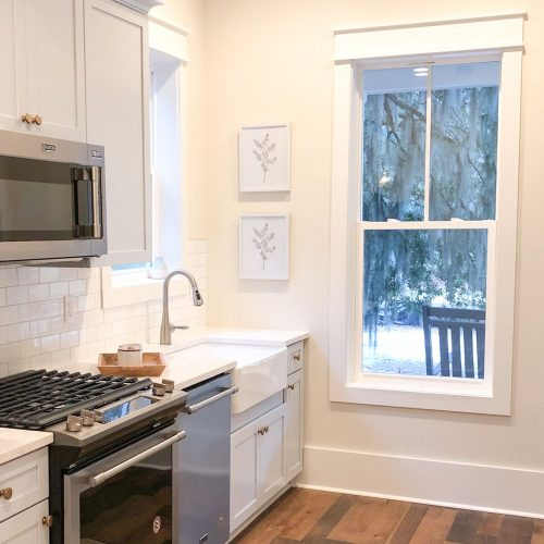 custom kitchen design by lowcountry home builder Meritus Signature Homes in Beaufort